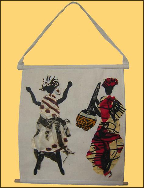 cadre SIYA tissu africain