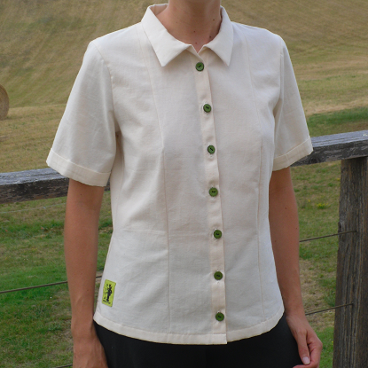 Chemise femme ethique coton bio made in france