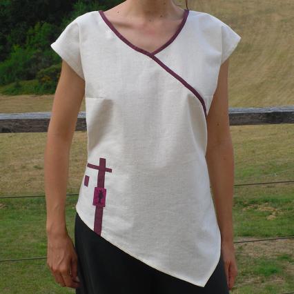 T-shirt femme ethique coton bio made in france