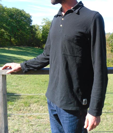 polo homme coton bio